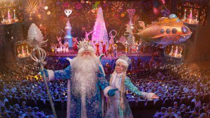 Проведите новогодние каникулы этого года со своими детьми на ёлке на Крокусе