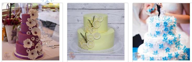 На вашей свадьбе должен быть волшебный торт. Вы этого достойны!