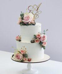 Тенденции свадебных тортов в 2020 году