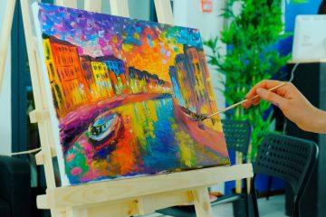 мастер-класс картина за 3 часа в Москве