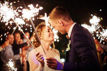бенгальские огни на свадьбу